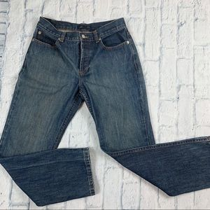 J crew Button Fly Straight Leg Jeans
